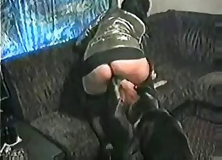 Good sex activity with a horny as hell German dog